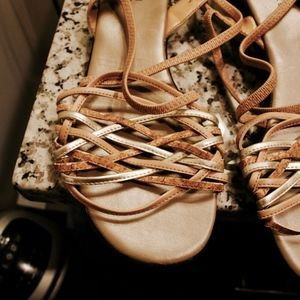 119. fancy minimalist sandals